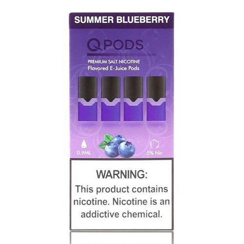 Pod Summer Blueberry  - Compatíveis com JUUL - QPods