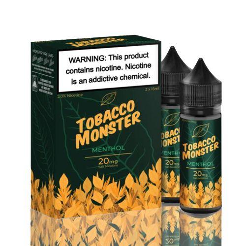 Líquido Tobacco Monster Salt - Menthol
