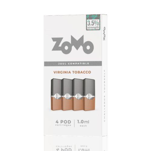Pod Zomo Compatível Com Juul - Virginia Tobacco