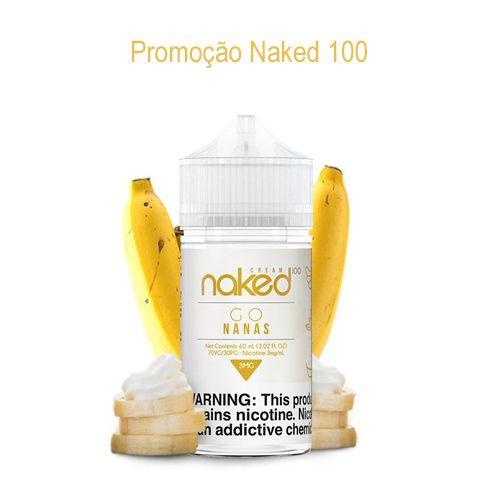 Promoção Líquido Naked 100 - Go Nanas