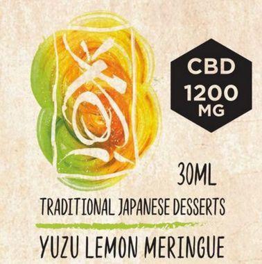 Líquido CBD Element - Yuzu Lemon Meringue - Traditional Japanese Desserts