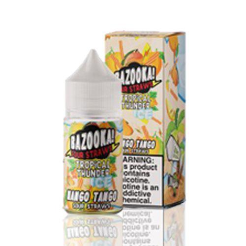 Líquido Bazooka! Salt - Sour Straws - Mango Tango ice