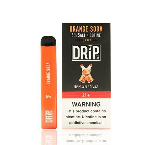 Pod Descartável Drip Bar - Orange Soda