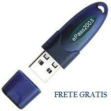 Token Feitian Epass2003 para Certificado Digital e-CPF, e-CNPJ e NF-e