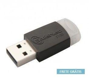 Token Safenet 5100 para certificado digital e-CPF, e-CNPJ, NFe – 10 Unidades