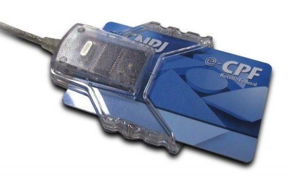 Kit Leitor + Cartao Smart Card - Frete Gratis