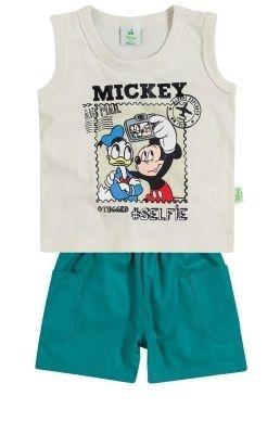 Conjunto Bebe Masculino Brandili Mickey G
