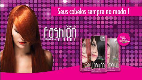 Coloração Creme Fashion Color - YAMA ( Consulte TABELA Coloração na descrição abaixo)