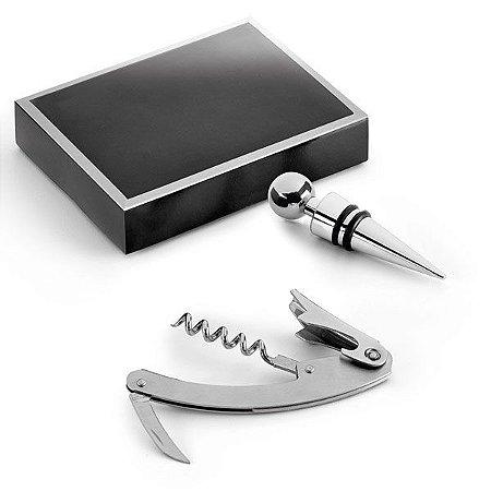 Conjunto  saca rolhas e canivete Personalizados