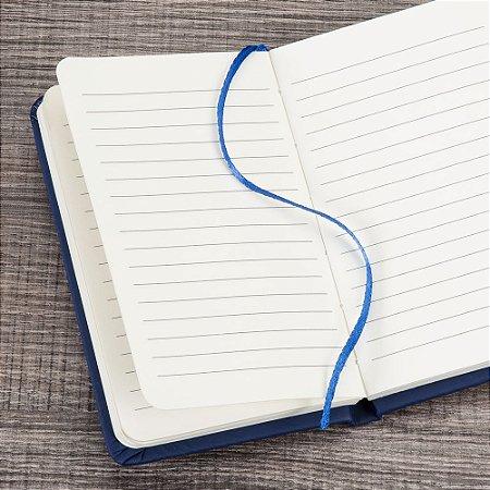 Caderneta tipo moleskine emborrachado - Personalizado silk ou digital