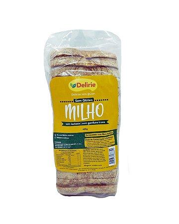 Pão de Milho Sem Glúten e Sem Lactose Delirie 450g