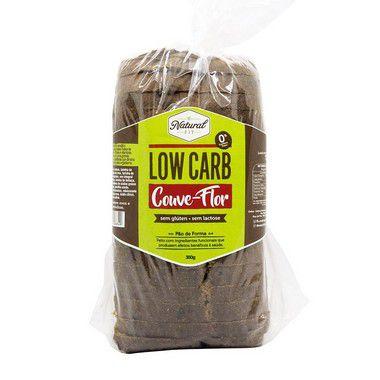 Pão Low Carb Couve-Flor Sem Glúten e Sem Lactose 350g