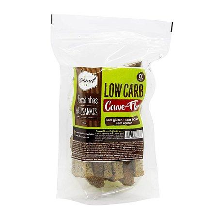 Torradinha Artesanal Lowcarb Couve-Flor Sem Glúten e Lactose 100g
