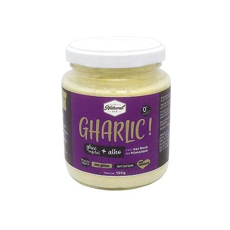Gharlic! Ghee Vegetal + Alho com Sal Rosa do Himalaia