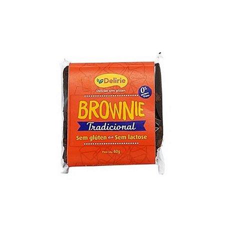 Brownie Tradicional Sem Glúten e Sem Lactose 60g