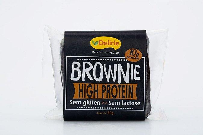 Brownie High Protein Sem Glúten e Sem Lactose 60g