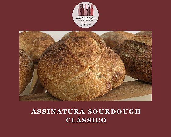 Assinatura Sourdough Clássico | Vegano