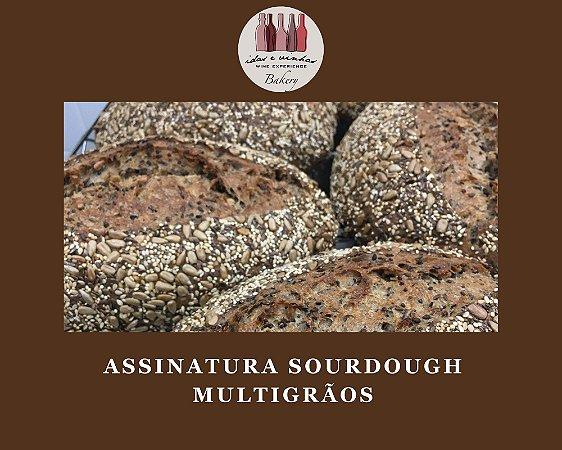 Assinatura Sourdough Multigrãos   Vegano