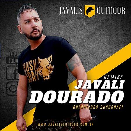 Camisa Javali Dourado - Guerreiros Bushcraft