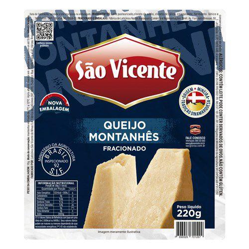 QUEIJO MONTANHES SÃO VICENTE 220G
