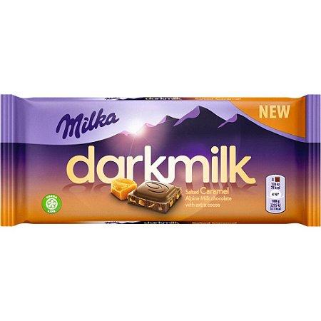 CHOCOLATE MILKA DARKMILK CARAMEL 85G