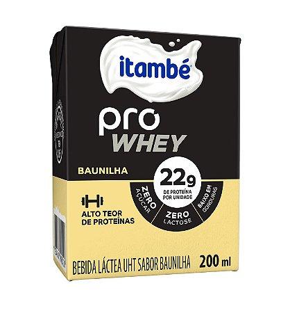 BEBIDA LACTEA BAUNILHA PRO WHEY ITAMBÉ 200ML