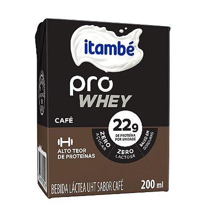 BEBIDA LACTEA PRO WHEY CAFÉ ITAMBÉ 200ML