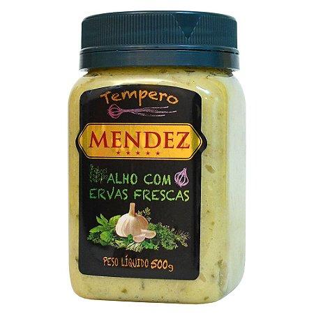 TEMPERO ALHO COM ERVAS FRESCAS MENDEZ 500GR