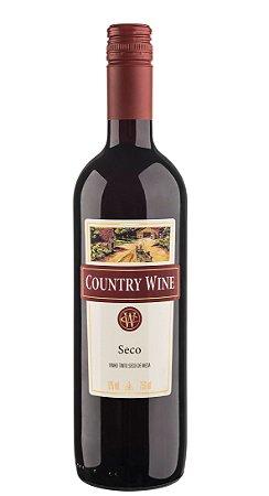 VINHO BRASILEIRO COUNTRY WINE TINTO SECO 750ML