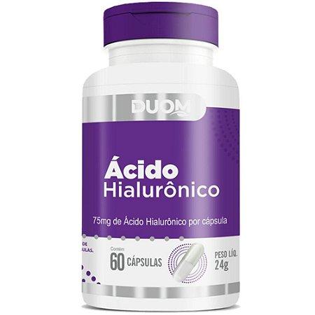 CAPSULA ÁCIDO HIALURÔNICO DUOM 60C