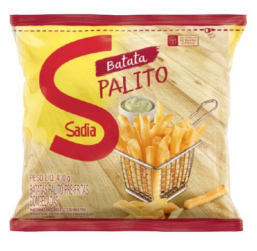 BATATA PALITO CONGELADA SADIA 400G