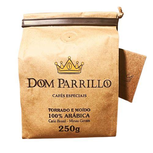 CAFE ARABICA MOIDO DOM PARRILLO 250G