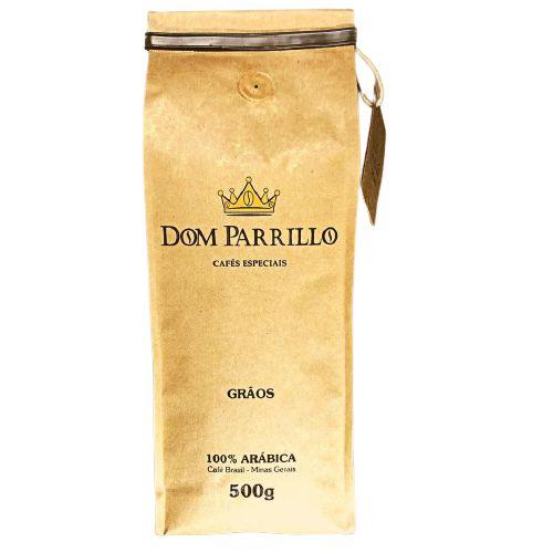 CAFE ARABICA GRAOS DOM PARRILLO 500G