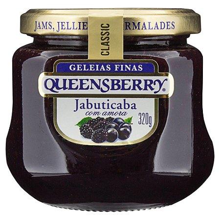 GELEIA QUEENSBERRY CLASSIC JABUTICABA E AMORA 320G