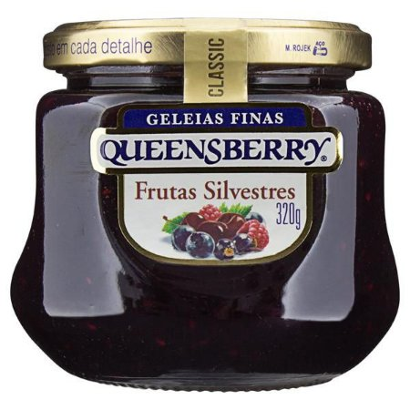 GELEIA QUEENSBERRY CLASSIC FRUTAS SILVESTRES 320G