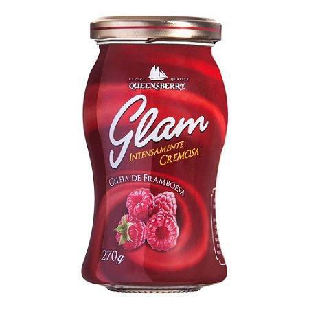 GELEIA QUEENSBERRY GLAM FRAMBOESA 270G