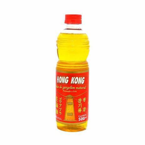 ÓLEO GERGELIM NATURAL HONG KONG 500ML