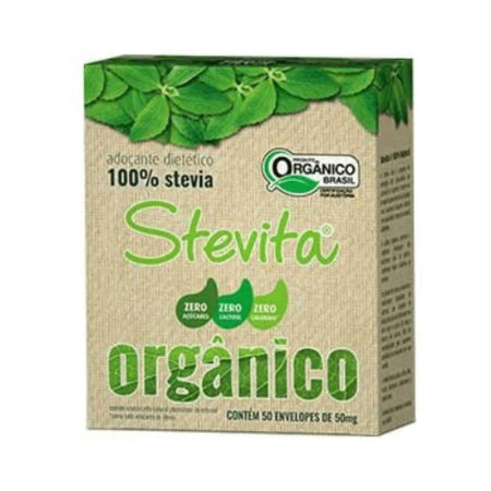 ADOCANTE STEVITA ORGÂNICO 50 SACHÊS