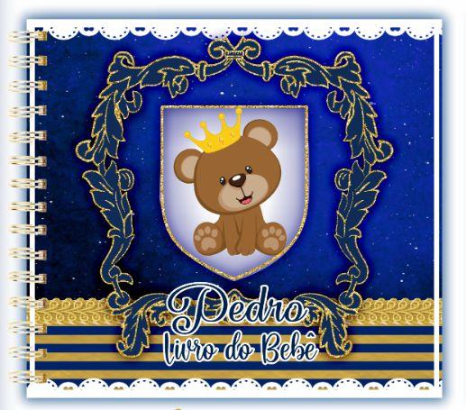 Livro do Bebê - Urso Príncipe