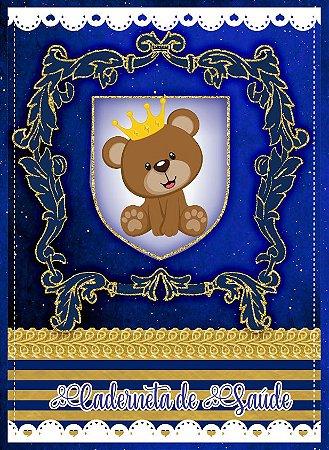 Caderneta de Vacinação - Urso Príncipe