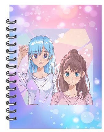 Caderno Anime 4