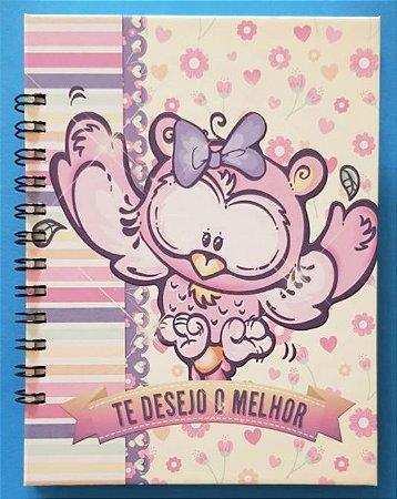 Caderno Corujinha