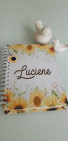 Caderno Girassóis