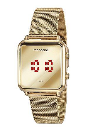 Relógio Digital Mondaine 32008MPMVDE1