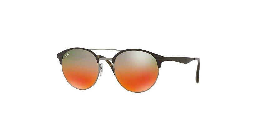 Óculos Ray Ban Metal com lente plástico