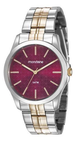 Relógio Mondaine Feminino Redondo Prata 78748lpmvba2