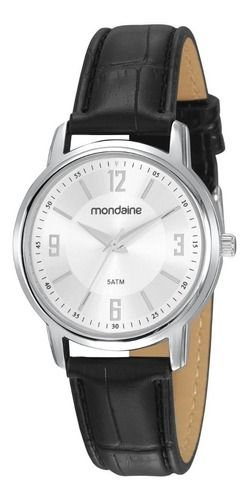 Relógio Mondaine Feminino Redondo Prata 83475l0mvnh1