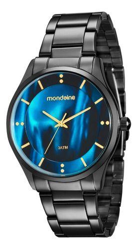 Relógio Mondaine Feminino Redondo Preto 99089lpmvpe3