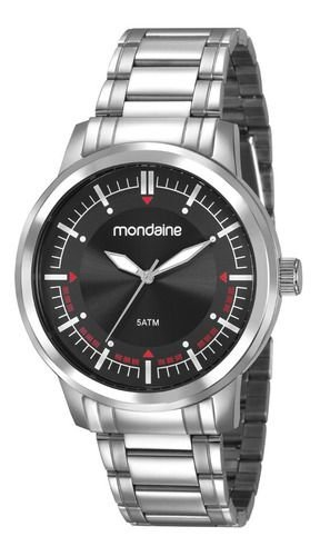 Relógio Mondaine Masculino Redondo Dourado 83424g0mvna2