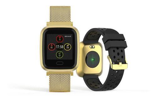 Relógios Seculus Unissex Quadrado Smart 79006mpsvde1
